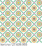 Купить «Floral seamless pattern, can be used as background.», иллюстрация № 27639955 (c) PantherMedia / Фотобанк Лори