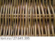 Купить «basket basketwork lichens plaited wattling», фото № 27641395, снято 19 октября 2018 г. (c) PantherMedia / Фотобанк Лори