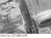 Купить «painted canvas, decorative painting, desaturated», фото № 27685235, снято 19 августа 2019 г. (c) PantherMedia / Фотобанк Лори