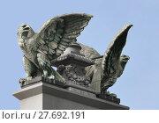 Купить «imperial eagle (hbf frankfurt)», фото № 27692191, снято 19 марта 2019 г. (c) PantherMedia / Фотобанк Лори