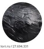 Купить «ball from black coat Anthracite isolated», фото № 27694331, снято 18 января 2019 г. (c) PantherMedia / Фотобанк Лори