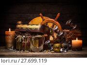 Купить «Still life with treasures», фото № 27699119, снято 19 апреля 2019 г. (c) PantherMedia / Фотобанк Лори
