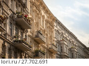 Купить «Beautifully renovated urban apartment buildings», фото № 27702691, снято 18 февраля 2018 г. (c) PantherMedia / Фотобанк Лори
