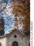 Купить «Temple crematorium», фото № 27708607, снято 23 октября 2018 г. (c) PantherMedia / Фотобанк Лори