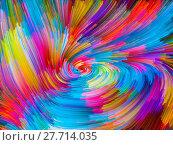 Купить «Visualization of Color Vortex», фото № 27714035, снято 21 ноября 2018 г. (c) PantherMedia / Фотобанк Лори