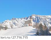 Купить «winter alps austrians österreich dienten», фото № 27716715, снято 24 мая 2019 г. (c) PantherMedia / Фотобанк Лори