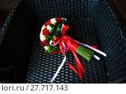 Купить «Bridal bouquet. The bride's bouquet», фото № 27717143, снято 21 июня 2018 г. (c) PantherMedia / Фотобанк Лори