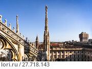 Купить «Milan city Italy», фото № 27718143, снято 13 декабря 2018 г. (c) PantherMedia / Фотобанк Лори