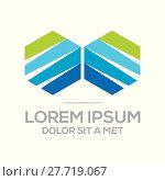 Купить «Logo Abstract Element Icon Vector», иллюстрация № 27719067 (c) PantherMedia / Фотобанк Лори
