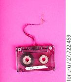 Купить «Retro. Cassette on the table», фото № 27722459, снято 20 января 2019 г. (c) PantherMedia / Фотобанк Лори