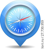 Купить «Compass Icon», иллюстрация № 27730959 (c) PantherMedia / Фотобанк Лори