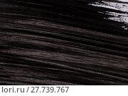Купить «Black paint isolated on white background», фото № 27739767, снято 24 февраля 2019 г. (c) PantherMedia / Фотобанк Лори
