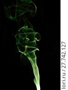 Купить «Capturing the smoke from an incense stick and changing the colours», фото № 27742127, снято 21 октября 2019 г. (c) PantherMedia / Фотобанк Лори