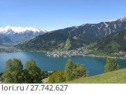 Купить «zeller see,see,zell am see,salzburg,pinzgau,holiday region,mountains», фото № 27742627, снято 20 мая 2019 г. (c) PantherMedia / Фотобанк Лори