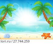 Купить «Beach theme image 8», фото № 27744259, снято 23 февраля 2019 г. (c) PantherMedia / Фотобанк Лори
