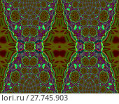 Купить «Abstract geometric seamless background. Intricate diamond pattern in purple, olive green and dark red, ornate and extensive ornaments.», фото № 27745903, снято 24 октября 2018 г. (c) PantherMedia / Фотобанк Лори