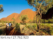 Купить «Uluru Kata Tjuta National Park (Ayers Rock)», фото № 27762923, снято 25 мая 2019 г. (c) age Fotostock / Фотобанк Лори