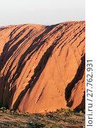 Купить «Aerial photography at dusk. Uluru Kata Tjuta National Park (Ayers Rock)», фото № 27762931, снято 25 мая 2019 г. (c) age Fotostock / Фотобанк Лори