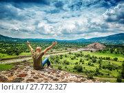 Купить «Man travels to Mexico», фото № 27772327, снято 19 апреля 2019 г. (c) PantherMedia / Фотобанк Лори