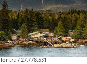 Купить «Ramshackle Boat Salvage Businesses Near Ketchikan», фото № 27778531, снято 20 апреля 2018 г. (c) PantherMedia / Фотобанк Лори