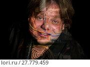 Купить «double exposure men face computer», фото № 27779459, снято 22 октября 2019 г. (c) PantherMedia / Фотобанк Лори