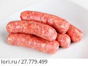 Купить «coarse bratwurst», фото № 27779499, снято 25 апреля 2018 г. (c) PantherMedia / Фотобанк Лори