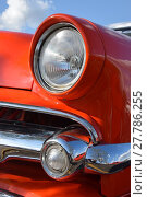 Купить «headlights of a vintage car in cuba», фото № 27786255, снято 20 февраля 2018 г. (c) PantherMedia / Фотобанк Лори
