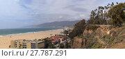 Купить «Beach along the Santa Monica coastline », фото № 27787291, снято 20 июня 2019 г. (c) PantherMedia / Фотобанк Лори