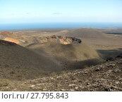 Купить «volcano crater on lanzarote», фото № 27795843, снято 16 декабря 2018 г. (c) PantherMedia / Фотобанк Лори