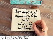 Купить «Handwritten quote as inspirational concept image», фото № 27795927, снято 19 декабря 2018 г. (c) PantherMedia / Фотобанк Лори