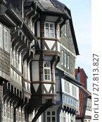 Купить «tudor style in the old town of goslar / harz», фото № 27813827, снято 27 мая 2019 г. (c) PantherMedia / Фотобанк Лори