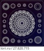 Купить «set of mandala illustration», иллюстрация № 27820715 (c) PantherMedia / Фотобанк Лори