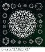 Купить «set of mandala illustration», иллюстрация № 27820727 (c) PantherMedia / Фотобанк Лори