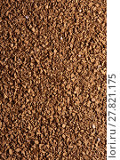 Купить «Granules of instant coffee background», фото № 27821175, снято 29 января 2018 г. (c) Александр Лычагин / Фотобанк Лори