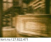 Купить «Western vintage saloon blurred abstraction», фото № 27822471, снято 18 июня 2018 г. (c) PantherMedia / Фотобанк Лори