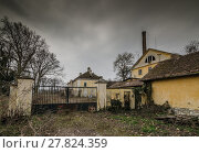 Купить «old building work house equipment», фото № 27824359, снято 20 января 2019 г. (c) PantherMedia / Фотобанк Лори