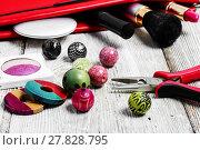 Купить «needlework beading pliers», фото № 27828795, снято 24 января 2019 г. (c) PantherMedia / Фотобанк Лори