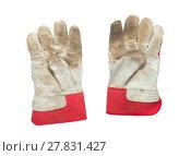 Купить «Dirty working gloves», фото № 27831427, снято 21 мая 2019 г. (c) PantherMedia / Фотобанк Лори