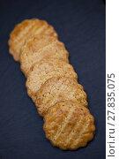 Купить «Crispy shortbread cookies», фото № 27835075, снято 20 апреля 2018 г. (c) PantherMedia / Фотобанк Лори