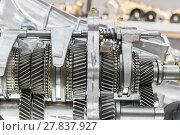 Купить «Close up cog wheels gears», фото № 27837927, снято 18 января 2019 г. (c) PantherMedia / Фотобанк Лори