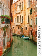 Купить «Colorful lateral canal in Venice, Italy», фото № 27840127, снято 17 января 2019 г. (c) PantherMedia / Фотобанк Лори