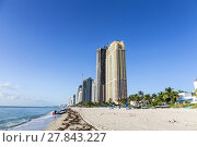 Купить «Sunny Isles Beach is a city located in Miami County, Florida», фото № 27843227, снято 19 ноября 2018 г. (c) PantherMedia / Фотобанк Лори