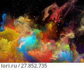 Купить «Colorful Space Nebula», фото № 27852735, снято 20 июля 2018 г. (c) PantherMedia / Фотобанк Лори