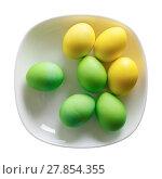 Купить «Colored Easter eggs», фото № 27854355, снято 21 сентября 2019 г. (c) PantherMedia / Фотобанк Лори