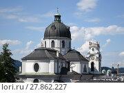 Купить «above the roofs of salzburg», фото № 27862227, снято 20 мая 2019 г. (c) PantherMedia / Фотобанк Лори
