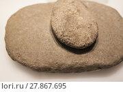 Купить «Neolithic era simple mill stone», фото № 27867695, снято 13 декабря 2018 г. (c) PantherMedia / Фотобанк Лори