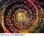 Купить «Virtualization of Curves», фото № 27869867, снято 21 июля 2018 г. (c) PantherMedia / Фотобанк Лори