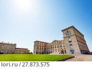 Купить «Facade of Palais du Pharo in Marseille, France», фото № 27873575, снято 18 июля 2017 г. (c) Сергей Новиков / Фотобанк Лори