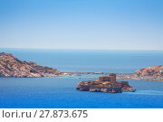Купить «Famous If castle, Chateau d'If, Marseille, France», фото № 27873675, снято 18 июля 2017 г. (c) Сергей Новиков / Фотобанк Лори