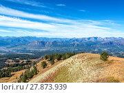 Купить «View from Clay Butte Overlook», фото № 27873939, снято 27 марта 2019 г. (c) PantherMedia / Фотобанк Лори